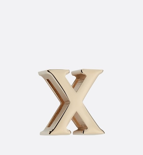 My ABCDior Letter 'X' Badge Front view