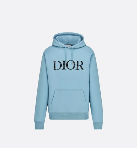 Oversized DIOR AND PETER DOIG Hooded Sweatshirt Front view