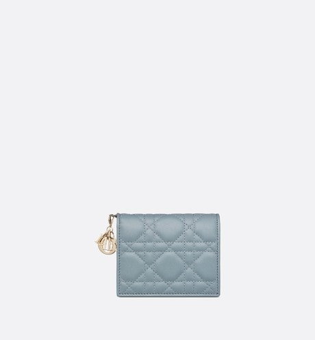 Mini Lady Dior Wallet Front view