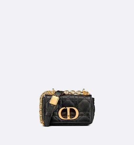 Micro Dior Caro Bag Front view
