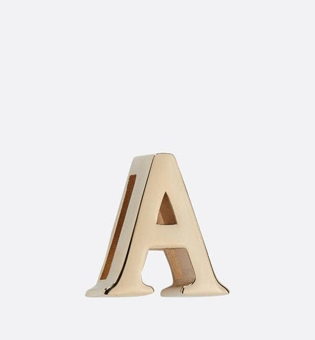 My ABCDior Letter 'A' Badge Front view