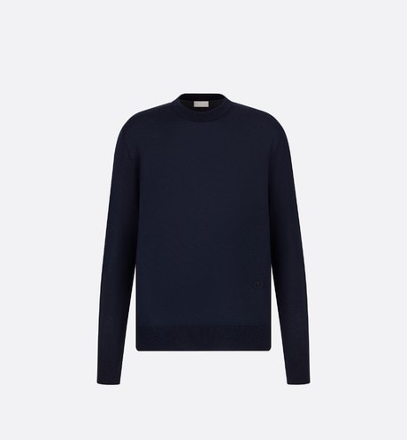 Sweater with 'CD Icon' Signature Front view