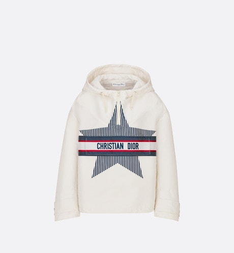 DiorAlps Hooded Short Anorak Front view