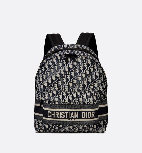 DiorTravel Backpack Front view