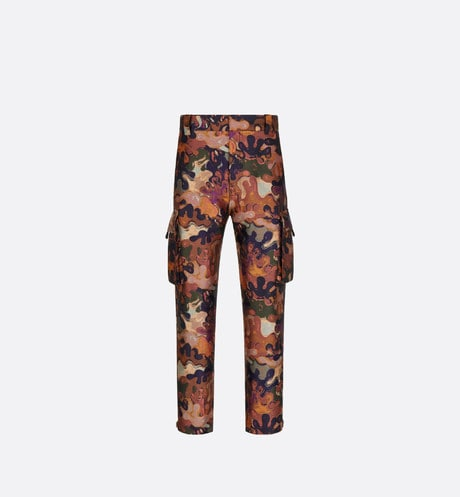 DIOR AND PETER DOIG Cargo Pants Front view