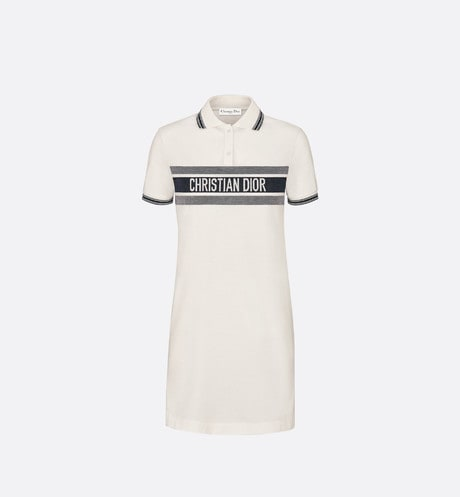 Dioriviera Polo Shirt Dress Front view