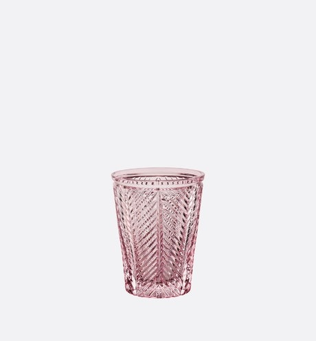 Pink Water Glass Front view