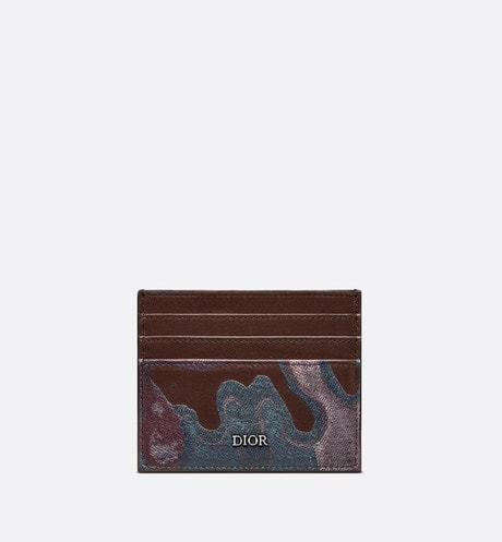 DIOR AND PETER DOIG Card Holder Front view