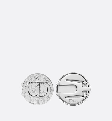 Dior Oblique Brass Button-Covers aria_frontView