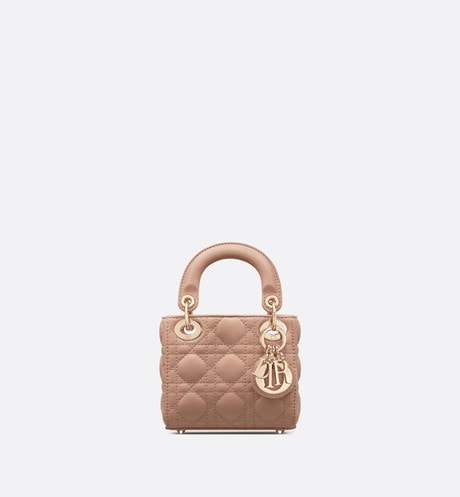 Micro Lady Dior Bag Front view