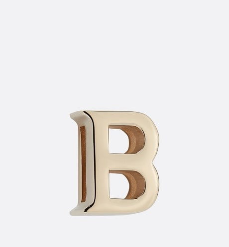 My ABCDior Letter 'B' Badge Front view