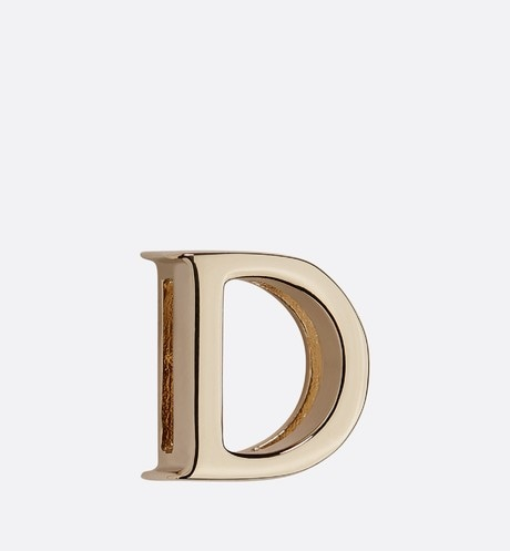 My ABCDior Letter 'D' Badge Front view