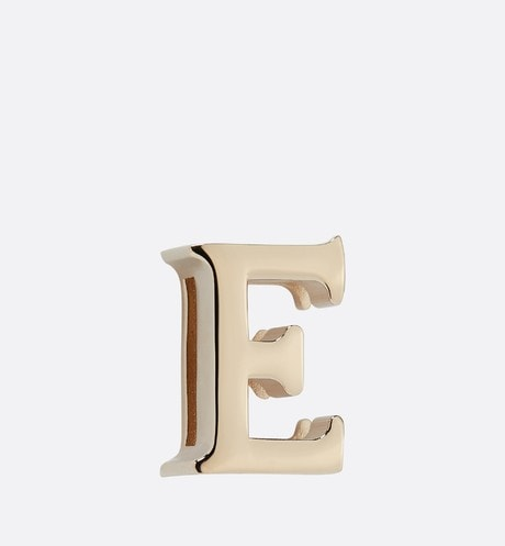 My ABCDior Letter 'E' Badge Front view