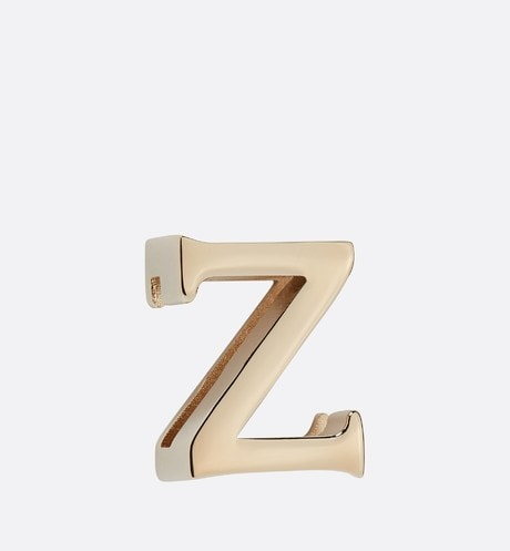 My ABCDior Letter 'Z' Badge Front view