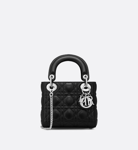 Mini Lady Dior Bag Front view