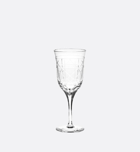 Engraved Water Glass front view