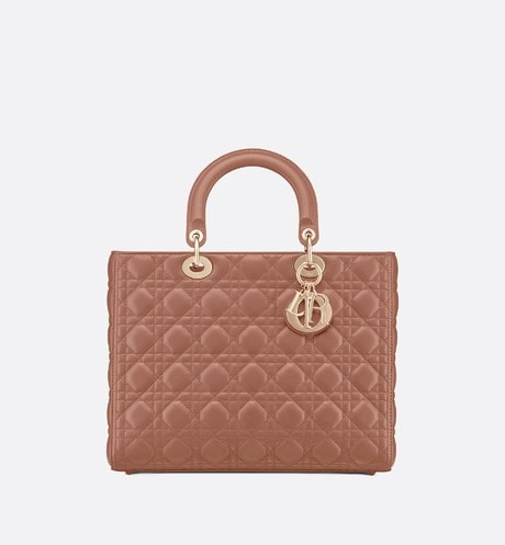 Large Lady Dior Bag Front view