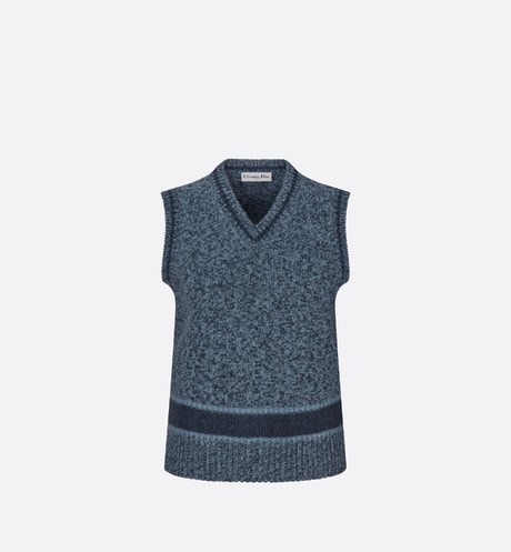 Sleeveless Sweater Front view