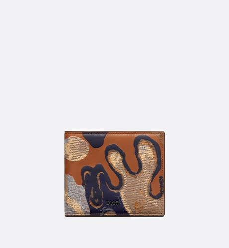 DIOR AND PETER DOIG Wallet Front view