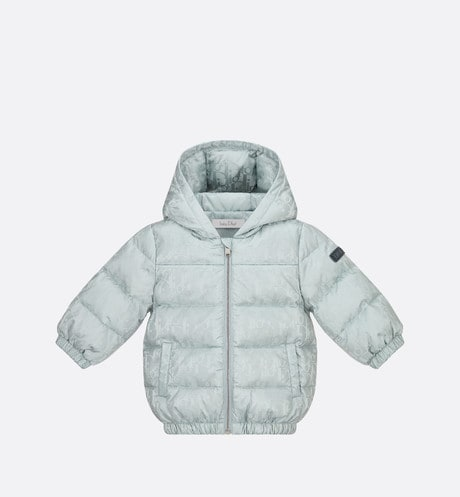 Dior Oblique Hooded Down Jacket Front view
