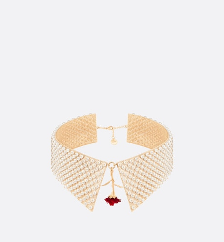Dior Dream Collar Necklace Front view