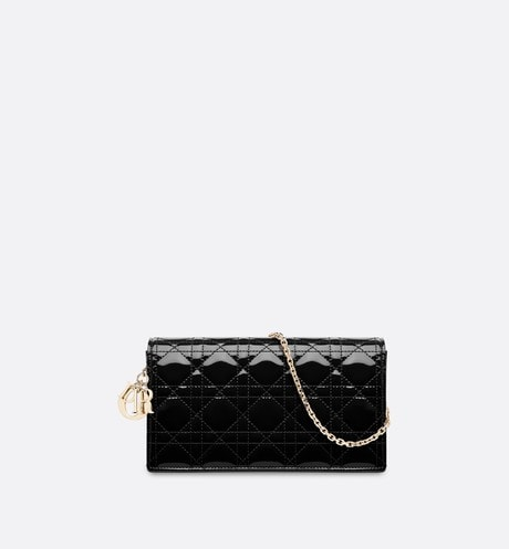 Lady Dior Pouch Front view