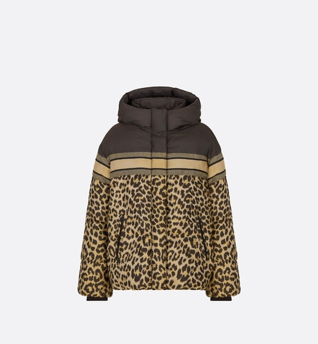 DiorAlps Hooded Down Jacket Front view