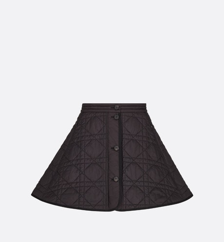 Macrocannage Miniskirt Front view