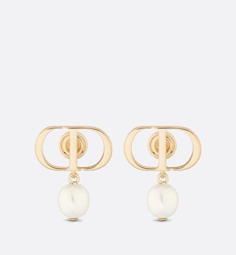 Petit CD Earrings Front view