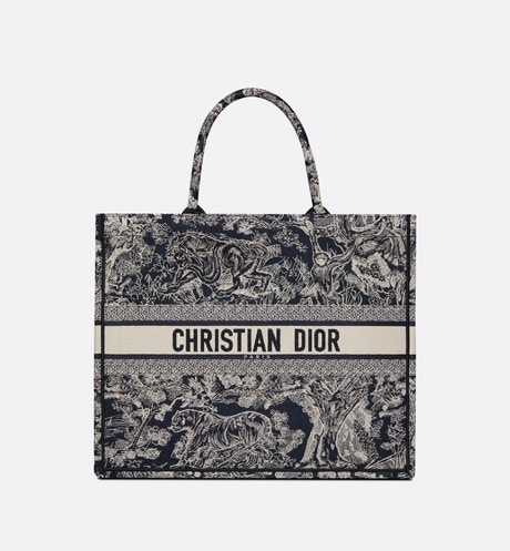 Dior Book Tote Front view