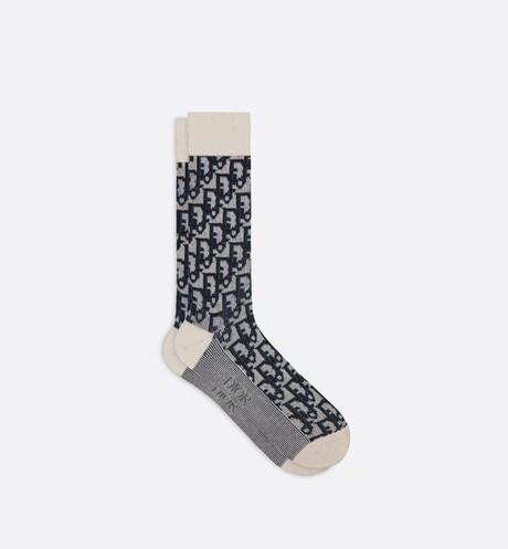Dior Oblique Socks Front view