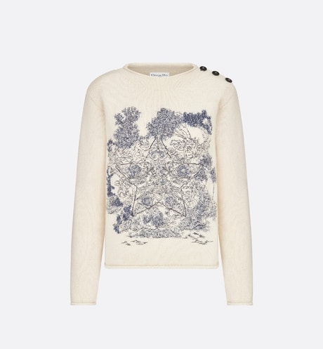 Embroidered Sweater Front view