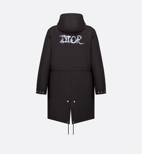 DIOR AND PETER DOIG Parka Front view