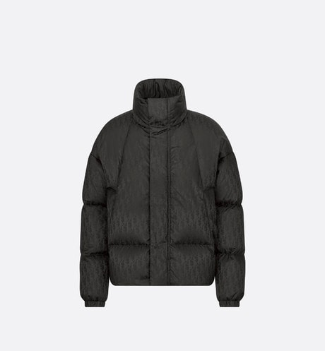 Dior Oblique Oversized Down Jacket Front view