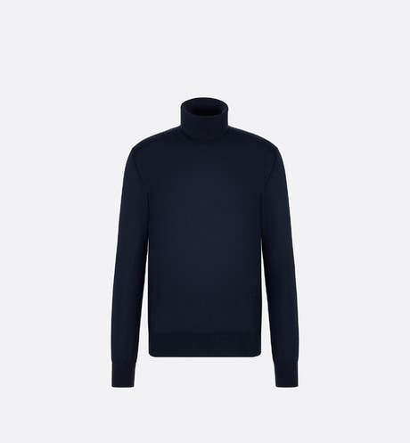 'CD Icon' Turtleneck Sweater Front view