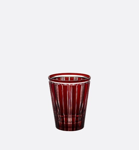 Red Water Glass Front view