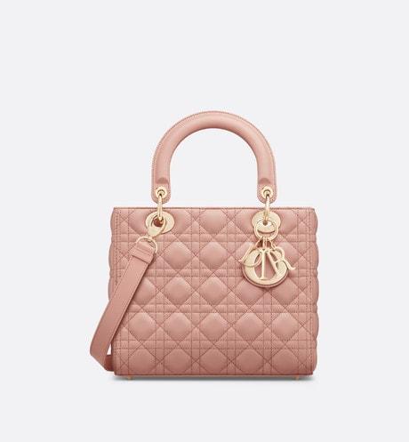 Medium Lady Dior Bag Front view