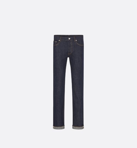 Raw Blue Slim-Fit Selvedge Jeans front view