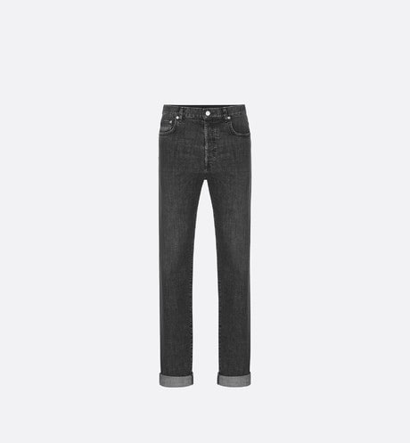 Gray Slim-Fit Jeans front view