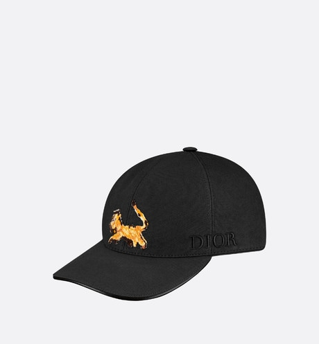 DIOR AND PETER DOIG Baseball Cap Front view