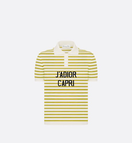 Dioriviera 'J'ADIOR CAPRI' Polo Shirt Front view