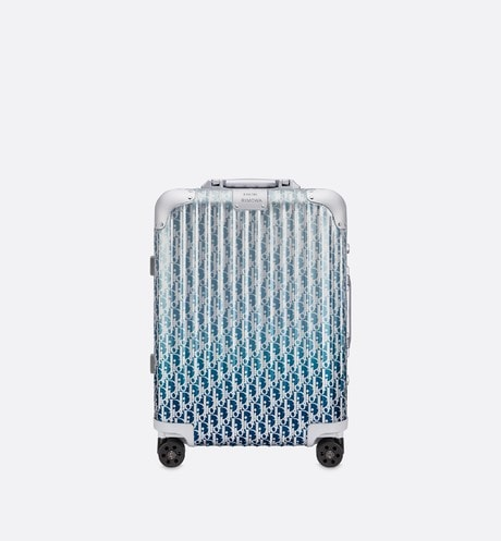 DIOR and RIMOWA Cabin Suitcase Front view
