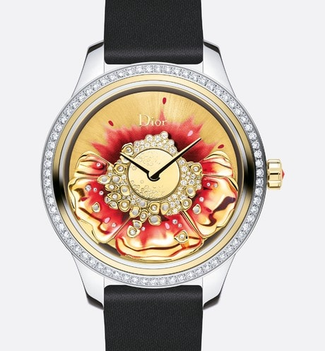 Dior Grand Bal Miss Dior Rouge, ? 36 mm, automatic movement, Dior Inversé 11 1/2 caliber front view