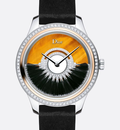 "Dior Grand Bal Plume ? 36 mm, automatic movement, Dior Inversé 11 1/2"" caliber front view"