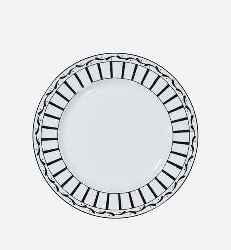 Monsieur Dior dinner plate front view