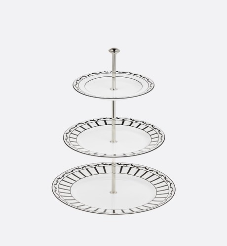 Three-Tiered Cake Stand Front view
