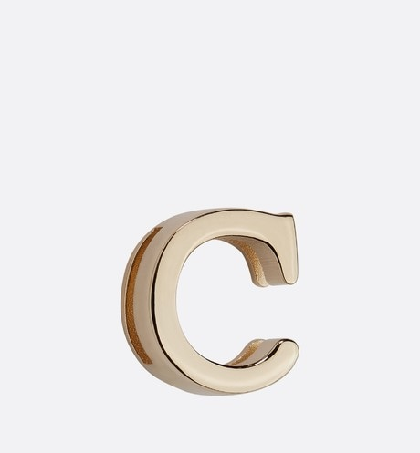 My ABCDior Letter 'C' Badge Front view