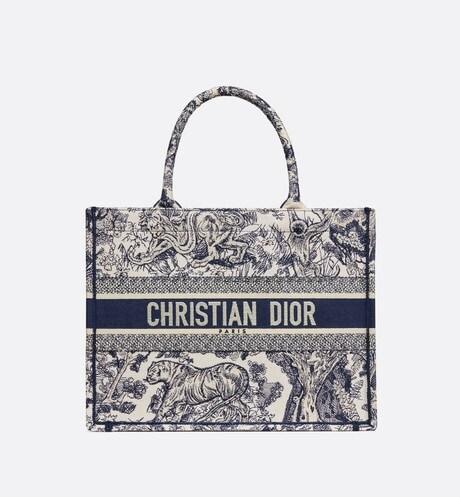 Dior Book Tote pequeño aria_frontView