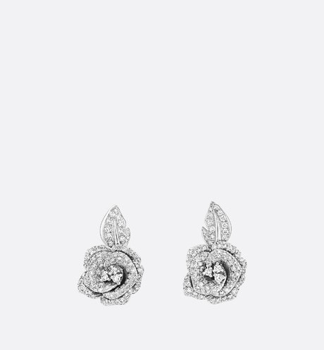 Boucles d'oreilles Rose Dior Bagatelle MM aria_frontView