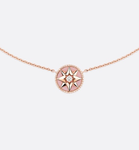 Collier Rose des vents aria_frontView